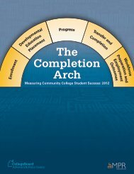 The Completion Arch: Measuring Community ... - College Board