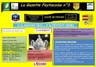 La Gazette Feytiacoise n°3 - Footeo