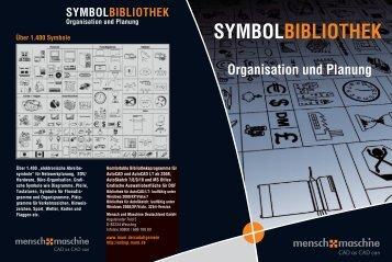 SYMBOLBIBLIOTHEK Organisation und Planung
