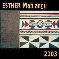 ESTHER Mahlangu - VGallery