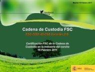 Declaración FSC - WWF