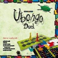 Pravidla hry Ubongo Duel - Hrajeme.cz