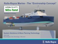 "Rolls-Royce Marine - The ""Environship Concept"" - NHO"