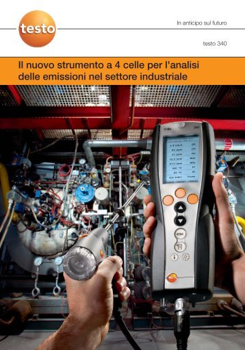 Ulteriori informazioni sull'analizzatore di combustione ... - Logismarket