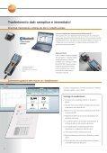 Ulteriori informazioni sull'analizzatore di combustione ... - Logismarket - Page 6