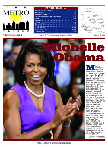 Michelle Obama - The Metro Herald