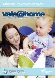in this issue... resident involvement special - Green Vale Homes