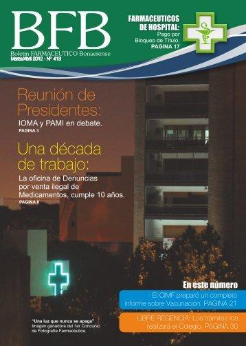 Boletín 413 web.pdf - Colegio de Farmacéuticos de la Provincia de ...