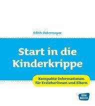 Kompakte Informationen für Erzieherinnen und ... - Edith Ostermayer