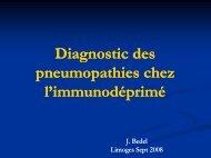 Diagnostic, en réanimation, des pneumopathies chez l ...
