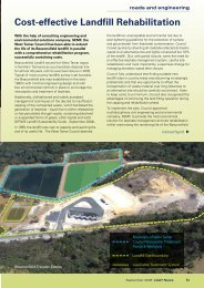 Cost-effective Landfill Rehabilitation - Local Government ...