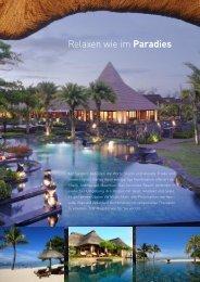Relaxen wie im Paradies