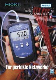 Für perfekte Netzwerke - ASM GmbH