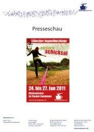 Presseschau der 5. Lübecker Jugendbuchtage 201