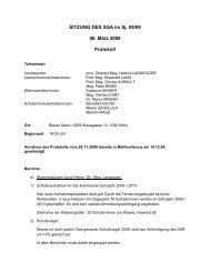 Sitzungsprotokoll vom 6.3.2009 (PDF) - Bundesgymnasium Wien 9 ...