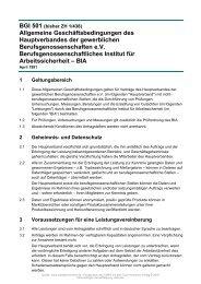 BGI 501 - beim Carl Heymanns Verlag
