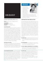Rhea Eckwolf Medienkauffrau - Die Zeit