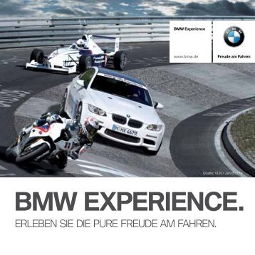 BMW EXPERIENCE. - BMW Diplomatic Sales