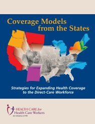 Coverage Models from the States - PHI