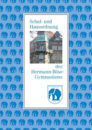 Schul - Gymnasium Hermann-Böse-Straße - Bremen