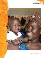 2008 Annual Report - World Vision Canada