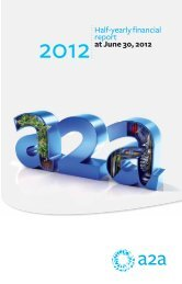 Half-yearly financial report at June 30, 2012 - A2A