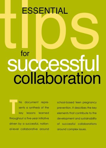Essential Tips for Successful Collaboration