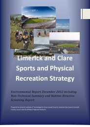 LCRS Environmental report For Consultation.pdf - Library/Limerick ...