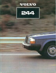 There is nothing quite like a Volvo - volvo 244 / volvo 240
