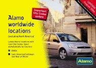 315 NAm Loc List - World Travel Net