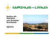 Rustico mit Meerblick und 28 Hektar Grundstück ... - Sardinia Living