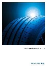 Geschäftsbericht 2012 - Delticom AG