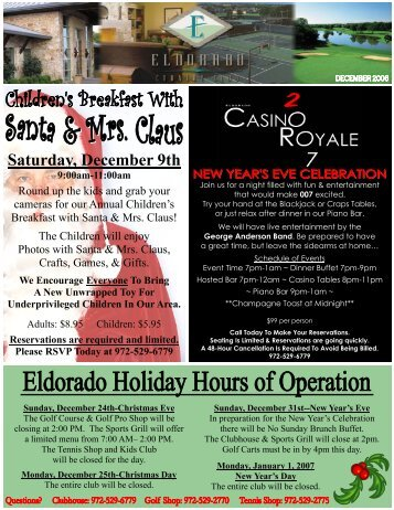 DEC NEWSLETTER 2006