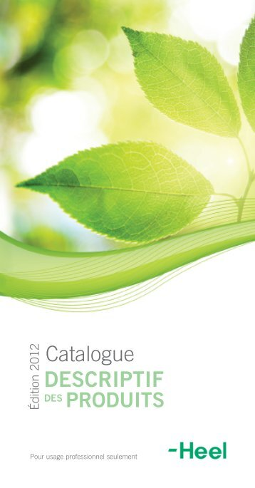 Catalogue DESCRIPTIF - Heel