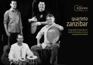 Release PDF Quarteto Zanzibar - Portugues - Borandá