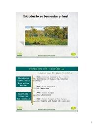 Etologia aula 13 - ETCO