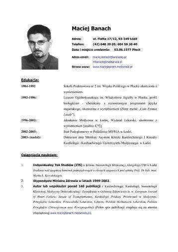 Maciej Banach - Activeweb Medical Solutions