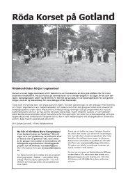 RK Gotland - Svenska Röda Korset