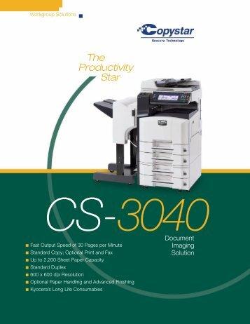 Copystar 3040 - Dick's Business Machines