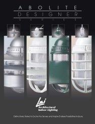 Abolite Designer Series - LSI Industries Inc.