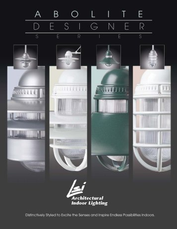 Abolite Designer Series - LSI Industries Inc.