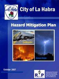 La Habra (PDF) - Hazard Mitigation Web Portal - State of California