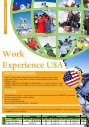 Work Experience USA - PCT Colombia