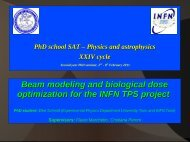 Beam modeling and biological dose optimization for the INFN TPS ...
