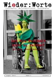 Ausgabe 3 (Herbst 2010) - Wieder:Worte