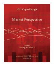 Market Perspective - Jones Lang LaSalle