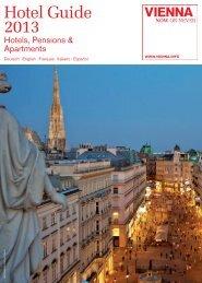 Hotel Guide 2013 - Vienna