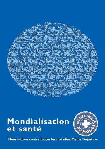 mondialisation def .qxd - Médecins du Monde