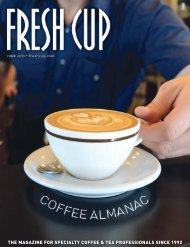 the magazine for specialty coffee & tea professionals since 1992