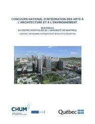 Concours national d'intégration des arts à l'architecture et à l ...